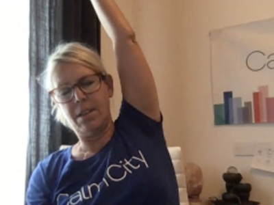Lunch Break | Optional Meditation and Chair Stretches withKristin Smith Westbrook, Founder, Calm City