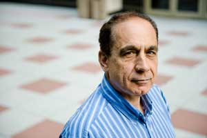 Spyros Efthimiades, Ph.D., says teaching adult students requires a unique approach. Photo by Ryan Brenizer