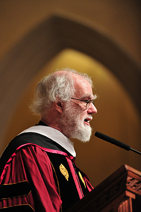 Archbishop Williams delivers the Orthodoxy in America Lecture.