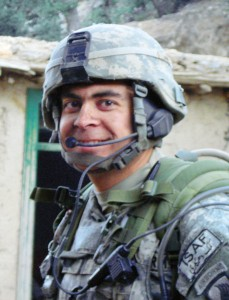 Fordham Army ROTC alumnus Erik Haass, FCLC '98, earned two Purple Hearts and two Bronze Medals for Valor during six years on active duty.