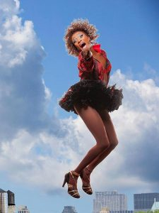 Kevin Smith Kirkwood as an Angel in Kinky Boots.