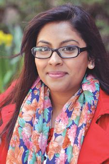 Naadia Chowdrury has researched Muslim mothers. Photo by Patrick Verel VIDEO: Fordham Selfies Watch a short video selfie by Naadia Chowdhury at http://bit.ly/FordhamSelfies6.