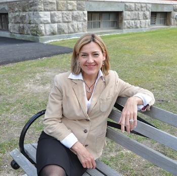 Christine Janssen-Selvadurai, Ph.D., found that women start businesses to improve their lifestyles.  Photo by Gina Vergel