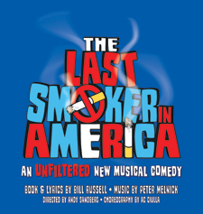 Students from the Gabelli School of Business helped promote the off-Broadway show, The Last Smoker In America, this summer.  Courtesy of Joan Marcus
