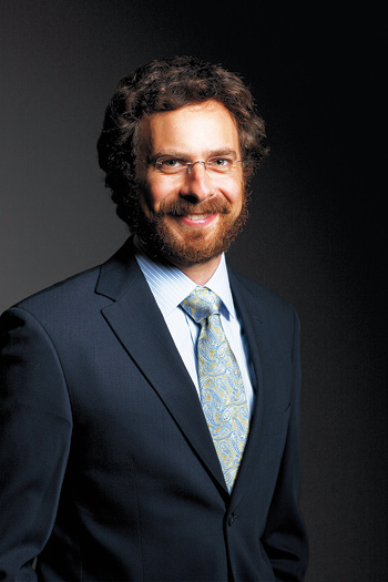 Ethan Leib, Ph.D., has written extensively on the role of friendship in contract disputes.  Photo by Jon Roemer