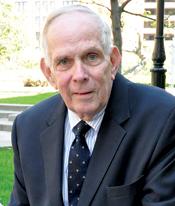 James Lothian, Ph.D., the new Toppeta Chair Photo by Patrick Verel