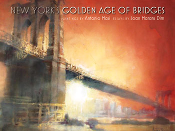 A recent book published by Empire State Editions, New York's Golden Age of Bridges, landed a spot in the December 2011 Gift Guide of Martha Stewart Living magazine. Photo courtesy Fordham University Press