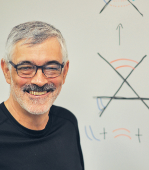 Ian Morrison, professor of mathematics. Photo by Patrick Verel