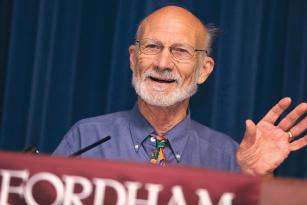 Keynote speaker Stanley Hauerwas. Photos by Michael Dames