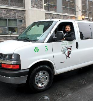 Marc Canton and Green Van #3.  Photos by Patrick Verel