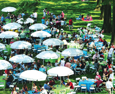 Fordham's annual Jubilee Reunion was held on the Rose Hill campus from May 31 to June 2. Photo by Chris Taggart