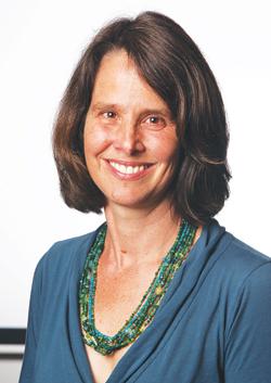 Kirsten Swinth, Ph.D., associate professor of history Photo by Bruce Gilbert