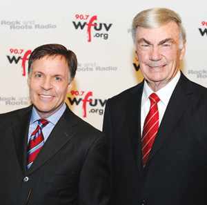 Sportscaster Bob Costas and ABC news veteran Sam Donaldson both received lifetime achievement awards at the gala.  Photo by Chris Taggart