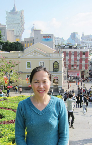 Chun Zhang, Ph.D., currently in Macao on a Fulbright scholarship, researches the impact of culture and diversity on early childhood education. Contributed photo