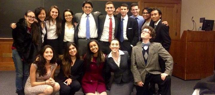 The Fordham College at Lincoln Center Mock Trial Team