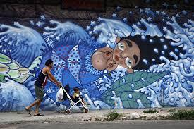 Cuba, Imagenes, Arte Callejero