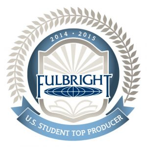 Fordham named top Fulbright-producing institution for 2014-15