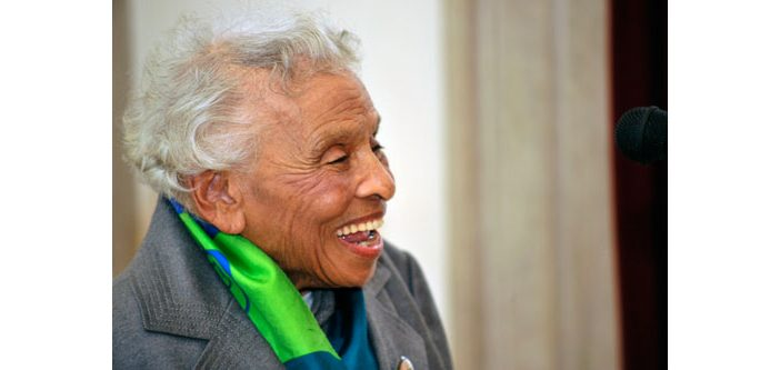Dr. Olivia J. Hooker, professor emerita of psychology, turned 100 on February 12.