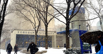 Winter at the Lincoln Center Campus