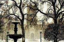 Rose Hill in the Snow