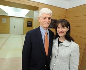 Gabelli's generosity includes a gift to support the renovation of Faber Hall, which he made with his wife, Regina Pitaro (FCRH '76), in 2009.