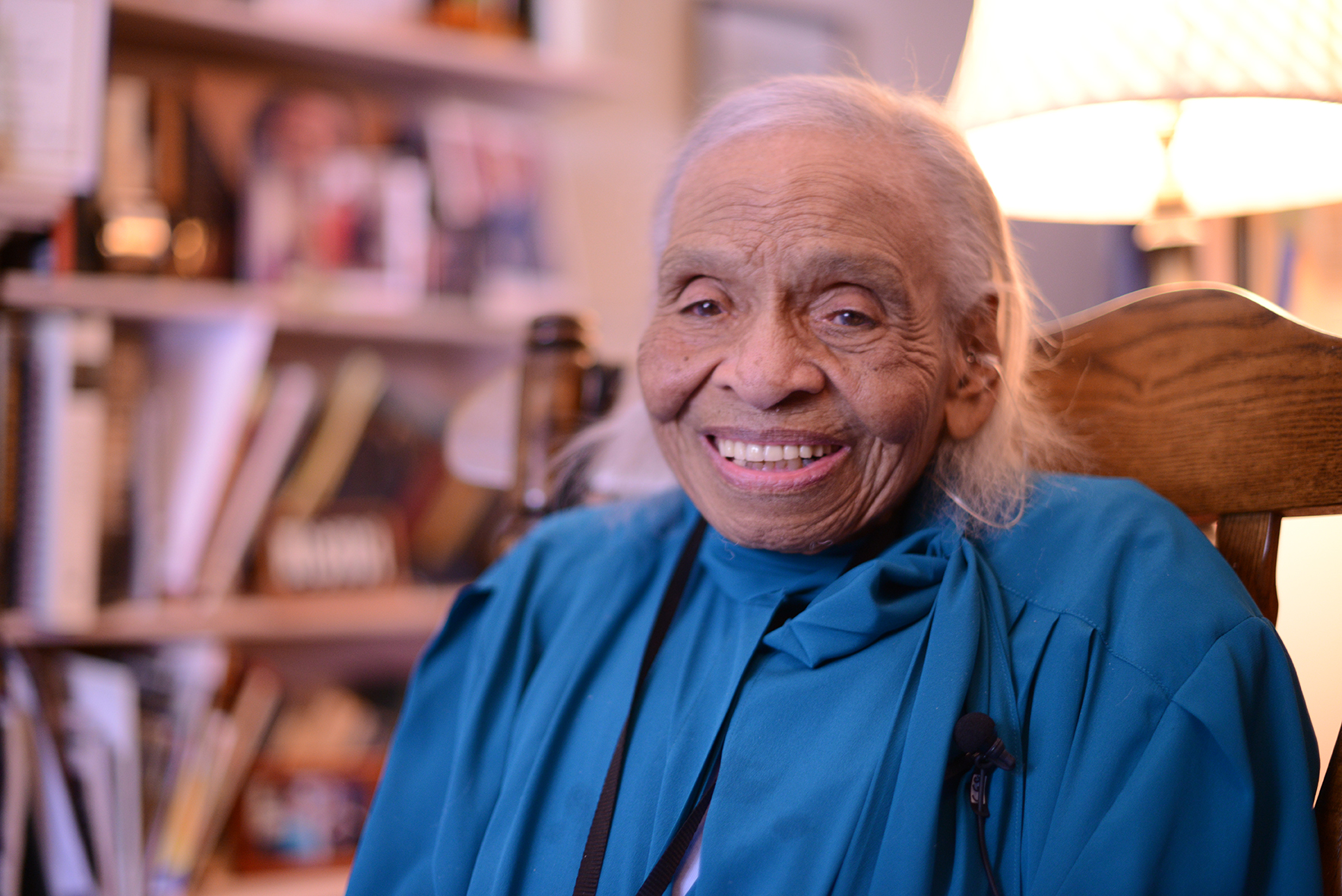 100 Year Old Olivia Hooker On Fordham Faith And Redemption