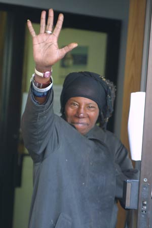 A Pathways to Housing client, Bonita, is now living in her own apartment after being homeless for over 16 years. Photo courtesy of Pathways to Housing