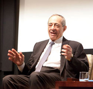 Mario Cuomo says it would have been easy to be a Supreme Court justice, but that the job wasn't a good fit for him.  Photo by Nancy Adler