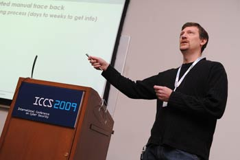 James J. Barlow describes how a 16-year-old Swedish boy hacked into a network of 11 American supercomputing sites.
