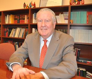 John D. Feerick has worked to create attorney emeritus status for older and retired lawyers to represent underprivileged clients.  Photo by Patrick Verel