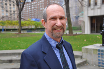 Barry Goldberg, Ph.D., says that while early members of the American labor movement compared their situation to that of slaves, many were explicitly racist. Photo by Patrick Verel