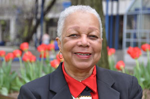 Winifred Grant majored in history at Fordham College of Liberal Studies.  Photo by Janet Sassi