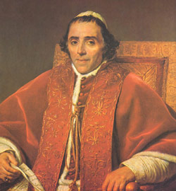 Pope Pius VII reinstated the Jesuits in 1814
