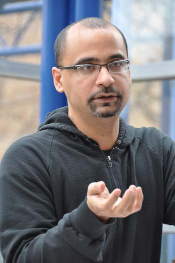 Junot Diaz says that artists who seek approval only deform their art. Photo by Janet Sassi