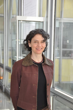 At the New School, Isabelle Frank, Ph.D., oversaw four master's programs, the bachelor's program and the adult continuing education program. Photo by Janet Sassi