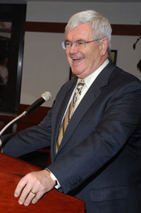 Newt Gingrich chronicled what he feels will be some of the major challenges facing the United States in a presentation to nearly 2,000 people on April 20..