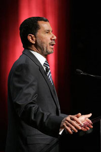 New York Gov. David Paterson said that education is the key to renewed prosperity in America in an address on March 6 at the annual Celebration of Teaching and Learning conference.