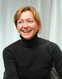 Tony Award-winning actress and former Fordham student Julie White spoke to theatre students on Oct. 20 about different approaches to working in theatre, TV and film. .