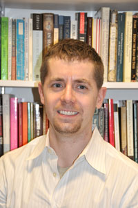Benjamin Dunning, Ph.D., will study how early Christians theologized sexual difference. Photo by Janet Sassi