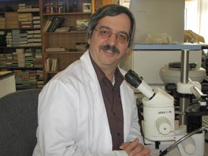 Richard Falco, Ph.D., is the state's metropolitan regional medical entomologist. Photo by Tom Daniels