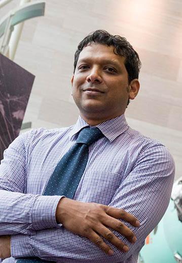 Asif Siddiqi (Photo by Bill Denison)