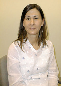 Arancha Garcia del Soto, Ph.D., has studied the lives of refugees on four continents. Photo by Victor M. Inzunza