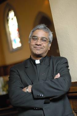 Rev. Emmanuel Babu Kallarackal Photo by Chris Taggart