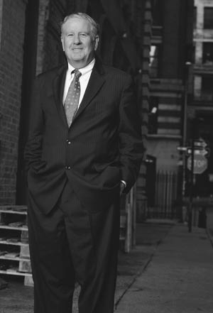 John D. Feerick, J.D., the Norris Professor of Law at Fordham University School of Law. Photo by Nancy Adler