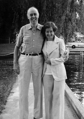 Owen T. and Alice M. Gorman in 1980.  Photo courtesy of the Gorman Foundation