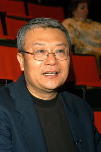 Writer and poet Ha Jin took on the challenge of co-writing the libretto for the opera, The First Emperor. Photo by Ken Levinson