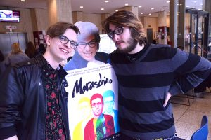 "Kieran Newton and Sean Egan made a feature film titled ""Maraschino."""