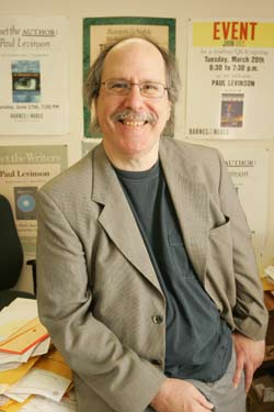 Paul Levinson, Ph.D., is an expert in media  and communications. Photo by Bruce Gilbert