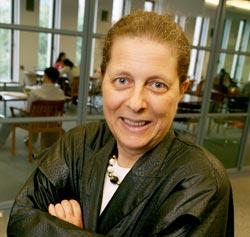 Marleen Barr, Ph.D., in Lowenstein Center.  Photo by Michael Dames