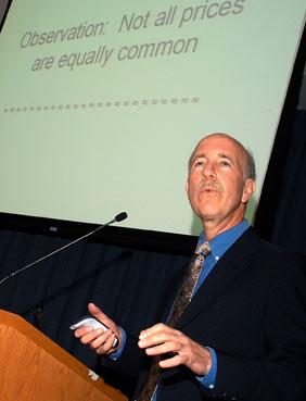 Robert Schindler, Ph.D., is an expert in consumer behavior. Photo by Ken Levinson